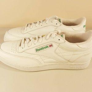 Reebok Womens Classic Vintage White Princess Shoes